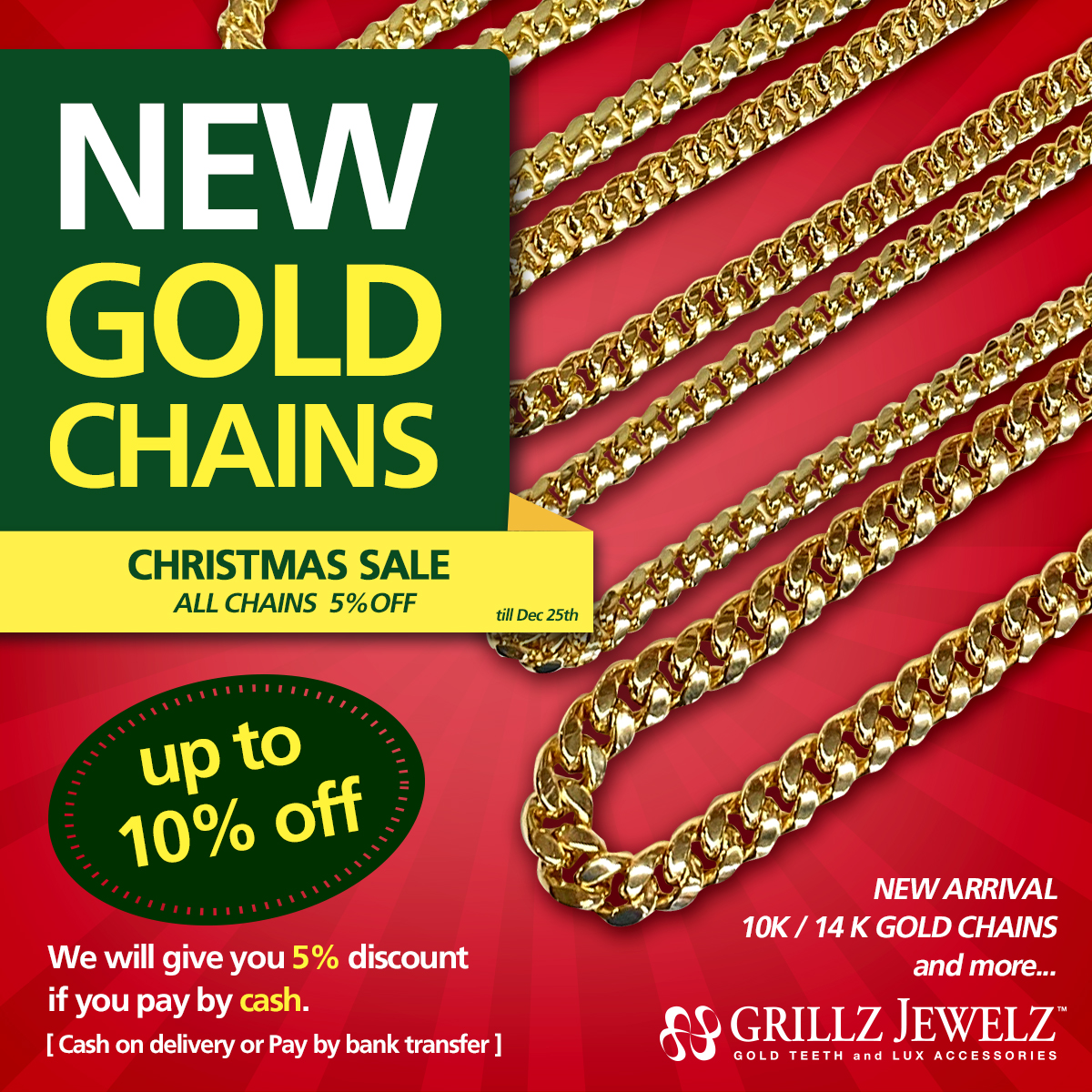 NEW ARRIVAL GOLD CHAINS